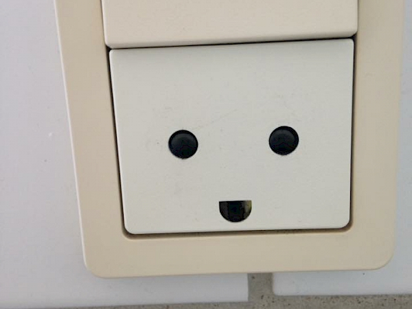 Even sockets are happy in Denmark!