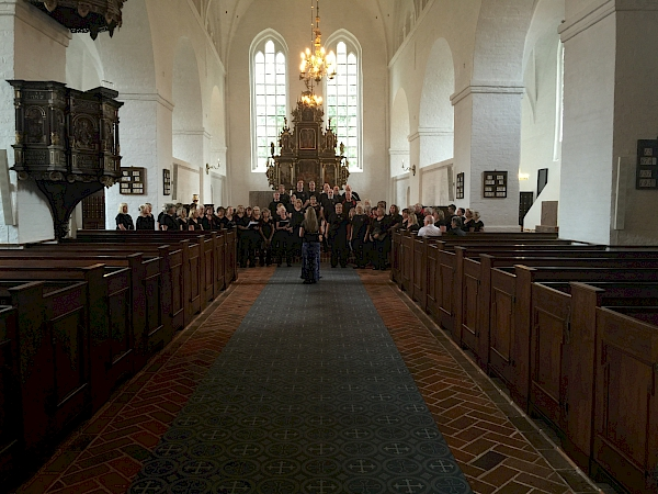 Sing! Choirs singing at St Catherine's Church, Ribe, Denmark