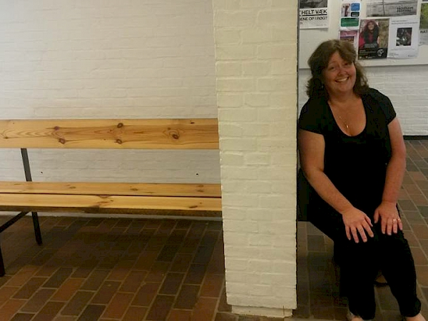 A bench in one of our concert venues!