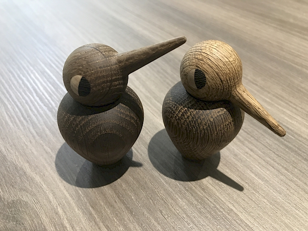 "A beautiful Danish gift to us - named ""Sing"" and ""Swing"""