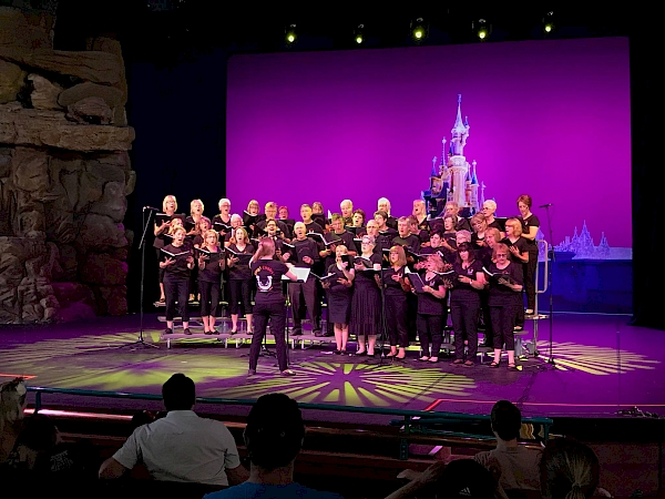 Sing! Choirs performing at DisneyLand Paris 2018